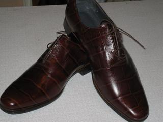И это не проблема.  Дизайнер воплотит в жизнь все Ваши желания! туфлями из кожи крокодила. ботинок из кожи ската.