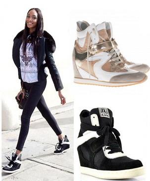 Зимняя обувь на платформе