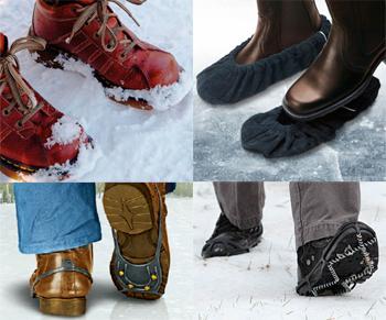 Скользит обувь: что делать, чтобы сапоги