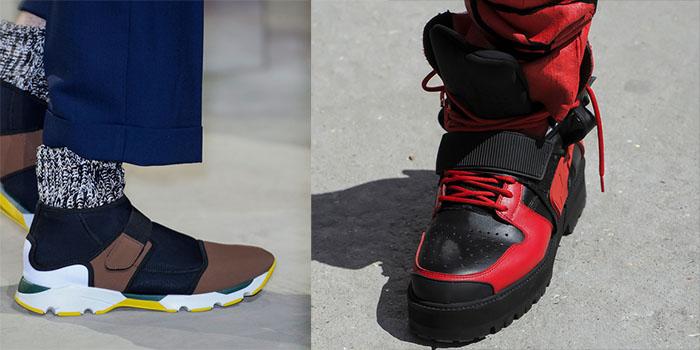 модные мужские кроссовки весна 2016 на липучках 987cf88863968
