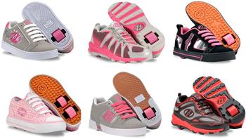 Роликовые кроссовки и кеды heelys, кроссовки с