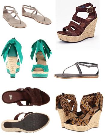 фото обувь уги