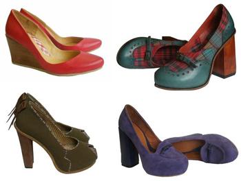 модные дизайнерские туфли осень 2013 от Яны