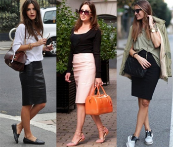 Какие туфли носить с юбкой карандаш